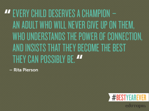 every child deserves a champion
